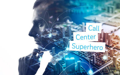 Call Center Superhero