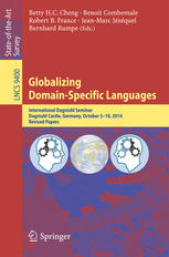 photo livre Globalizing Domain-Specific Languages